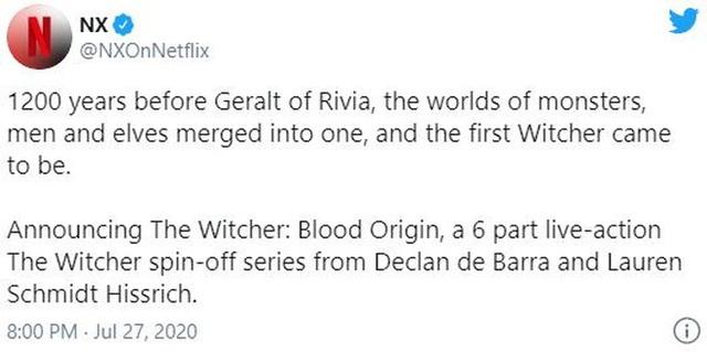 Netflix chuẩn bị sản xuất series tiền truyện của The Witcher, lấy bối cảnh 1200 năm trước khi Geralt ra đời - Ảnh 2.