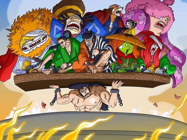 One Piece chapter 986: Các gia thần của chúa công Oden tập hợp, tiêu diệt Kanjuro, tấn công thẳng mặt Kaido - Ảnh 2.