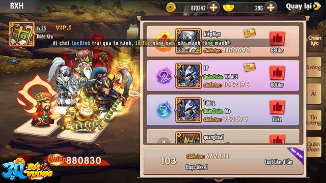 Không hổ danh game thẻ tướng được mong chờ nhất tháng 7, 3Q Bá Vương vỡ trận trước lượng người chơi quá đông đảo - Ảnh 1.