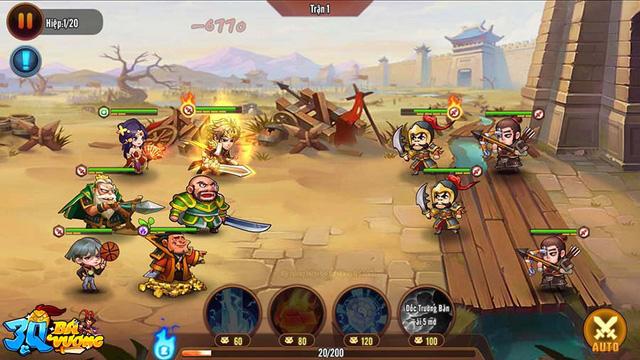 Không hổ danh game thẻ tướng được mong chờ nhất tháng 7, 3Q Bá Vương vỡ trận trước lượng người chơi quá đông đảo - Ảnh 2.