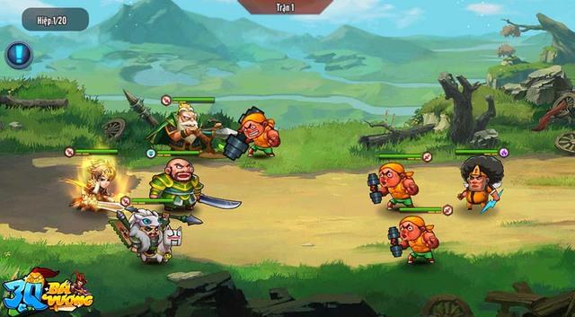 Không hổ danh game thẻ tướng được mong chờ nhất tháng 7, 3Q Bá Vương vỡ trận trước lượng người chơi quá đông đảo - Ảnh 4.