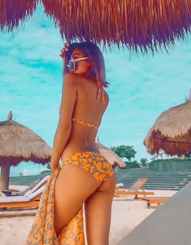 Hot girl siêu vòng 3 thả nhẹ loạt ảnh bikini táo bạo, vườn đào căng mọng khiến 500 anh em Ảnh Kiếm 3D suýt trớ - Ảnh 29.
