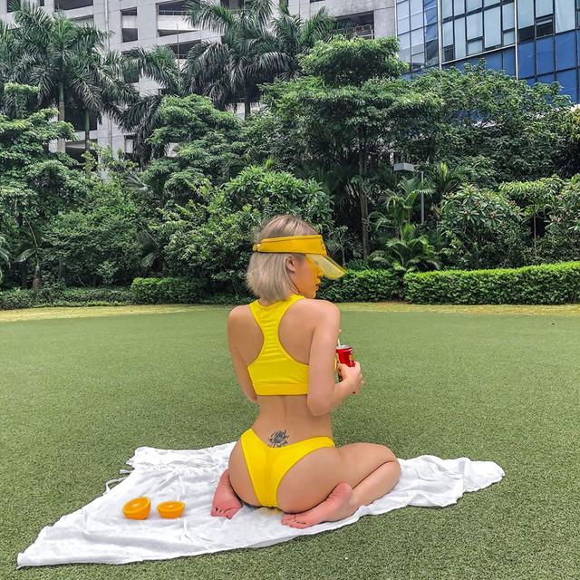 Hot girl siêu vòng 3 thả nhẹ loạt ảnh bikini táo bạo, vườn đào căng mọng khiến 500 anh em Ảnh Kiếm 3D suýt trớ - Ảnh 28.