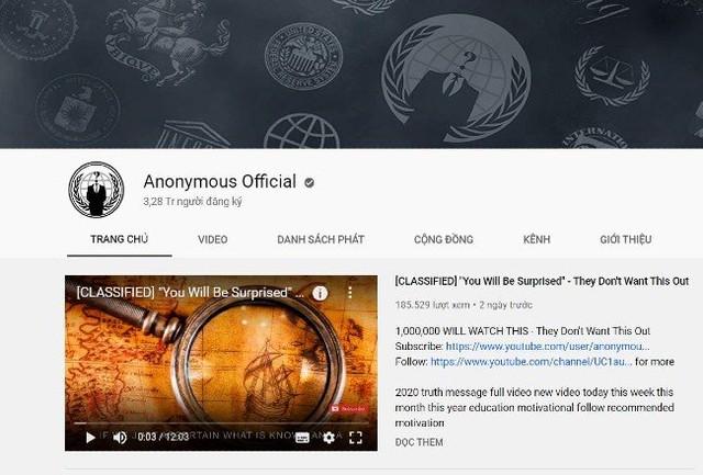 Những góc khuất ít người biết về nhóm hacker Anonymous: Sở hữu nút vàng Youtube, làm cả MXH riêng nhưng lại bị hack lên bờ xuống ruộng - Ảnh 1.