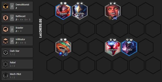 Đấu Trường Chân Lý: Bí kíp chơi đội hình Phi Công hỗn hợp siêu mạnh trong meta 10.15 - Ảnh 2.