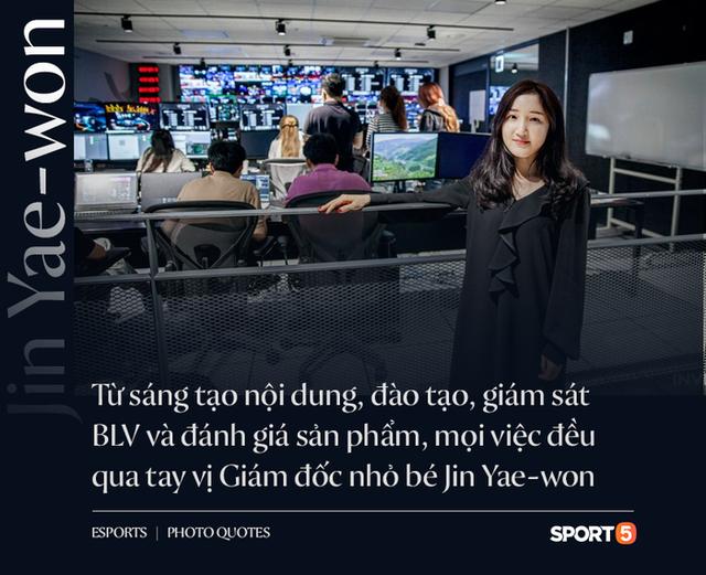 Jin Ye-won, người phụ nữ quyền lực nhất giới LMHT Hàn Quốc: Nhỏ nhắn, xinh xắn nhưng gánh trên vai trọng trách khổng lồ - Ảnh 1.