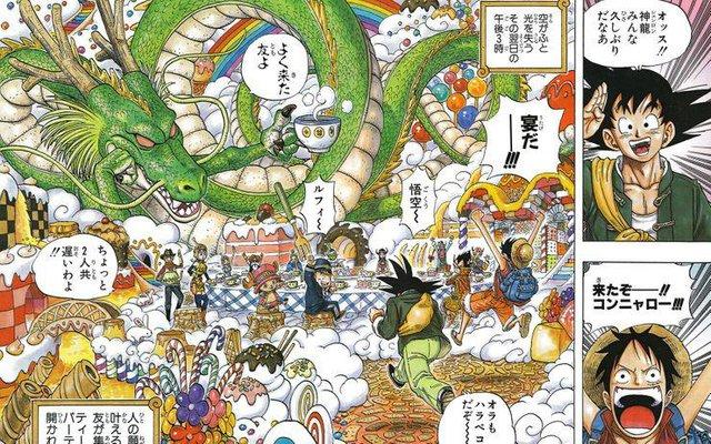 Không chỉ giao lưu ở anime/manga, One Piece và Dragon Ball còn đồng hành cả trong game - Ảnh 1.
