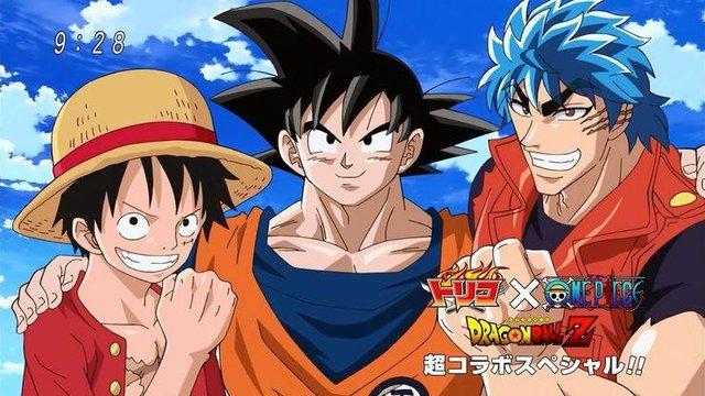 Không chỉ giao lưu ở anime/manga, One Piece và Dragon Ball còn đồng hành cả trong game - Ảnh 2.