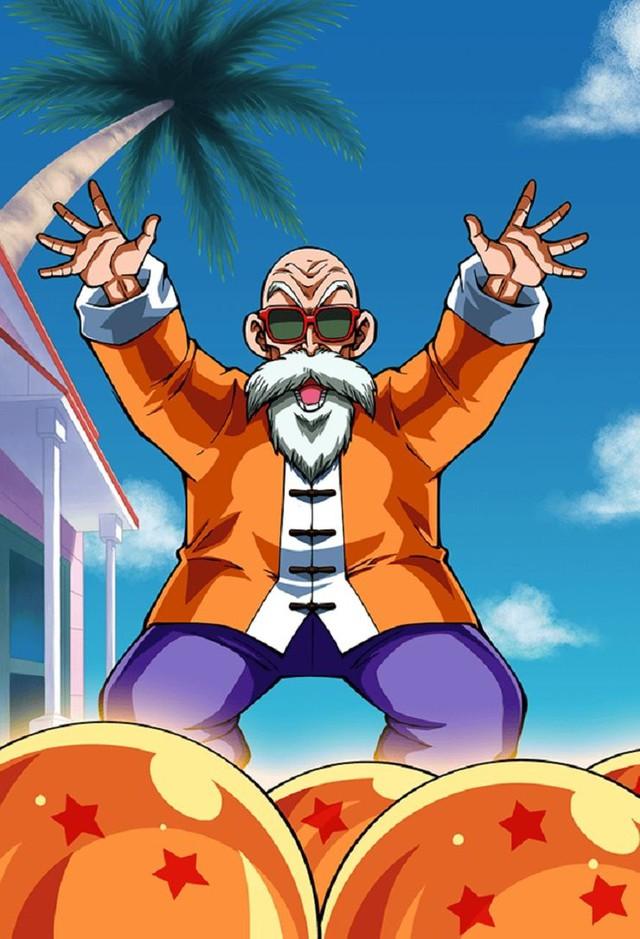 Loạt tranh cực đỉnh về Master Roshi cho thấy gừng càng già càng cay chớ vội coi thường lão già mê gái này nhé! - Ảnh 8.