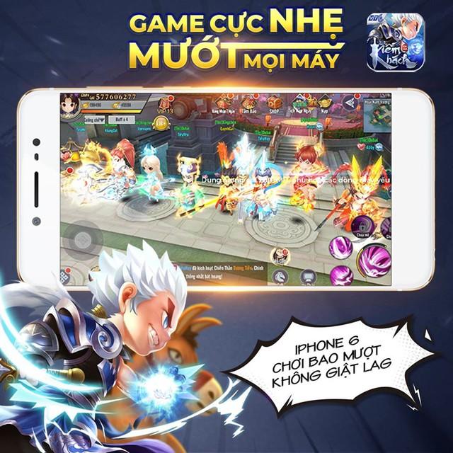 Tặng Free VIP 6 vĩnh viễn bảo sao game Kiếm Khách Ca Ca VTC được lòng game thủ - Ảnh 1.