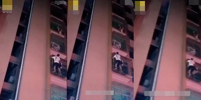 Trèo lên tầng 6 cứu bé trai rồi mắc kẹt vì sợ độ cao, nam thanh niên lại ngồi chờ đội cứu hộ tới giải cứu và cái kết - Ảnh 2.