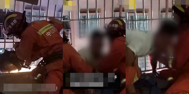 Trèo lên tầng 6 cứu bé trai rồi mắc kẹt vì sợ độ cao, nam thanh niên lại ngồi chờ đội cứu hộ tới giải cứu và cái kết - Ảnh 3.