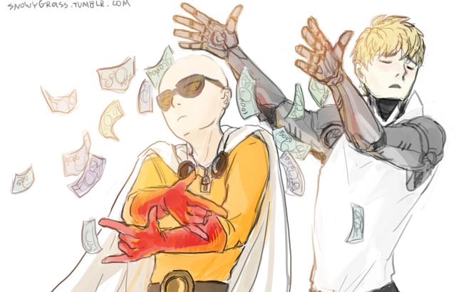 One Punch Man: Saitama có sharingan và loạt ảnh chế về thánh phồng khiến fan cười rung rốn - Ảnh 14.