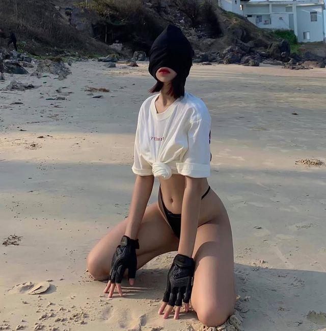 Cộng đồng xôn xao vì bộ ảnh sexy vượt sức chịu đựng của hot girl Việt, điểm chung là... không bao giờ thấy mặt - Ảnh 9.