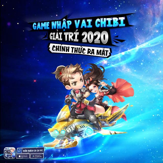 Tặng hàng trăm Giftcode mừng game kiếm hiệp chibi hot nhất Đông Nam Á – Kiếm Khách Ca Ca VTC ra mắt ngày 9/7 - Ảnh 1.