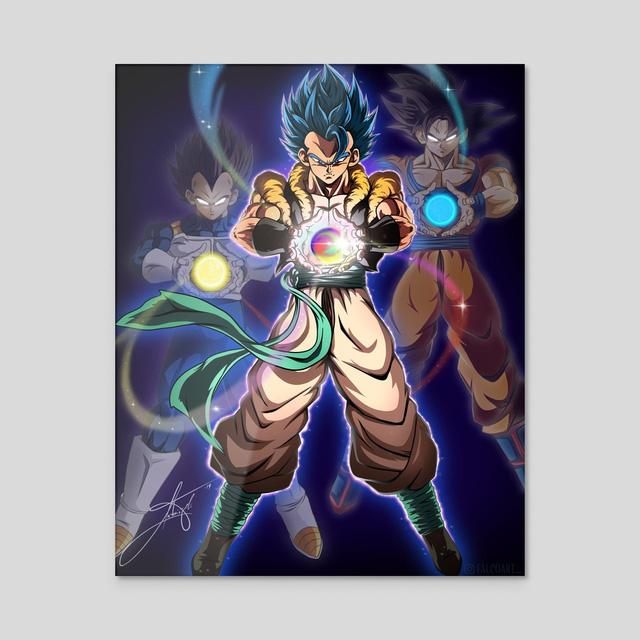 Dragon Ball: Goku và đồng bọn trông như những vị thần qua loạt fanart đẹp nhức mắt - Ảnh 11.