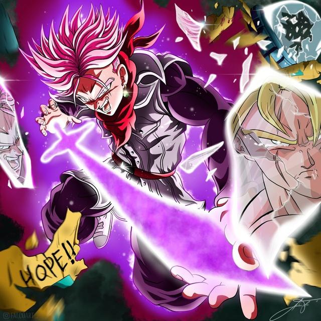 Dragon Ball: Goku và đồng bọn trông như những vị thần qua loạt fanart đẹp nhức mắt - Ảnh 9.