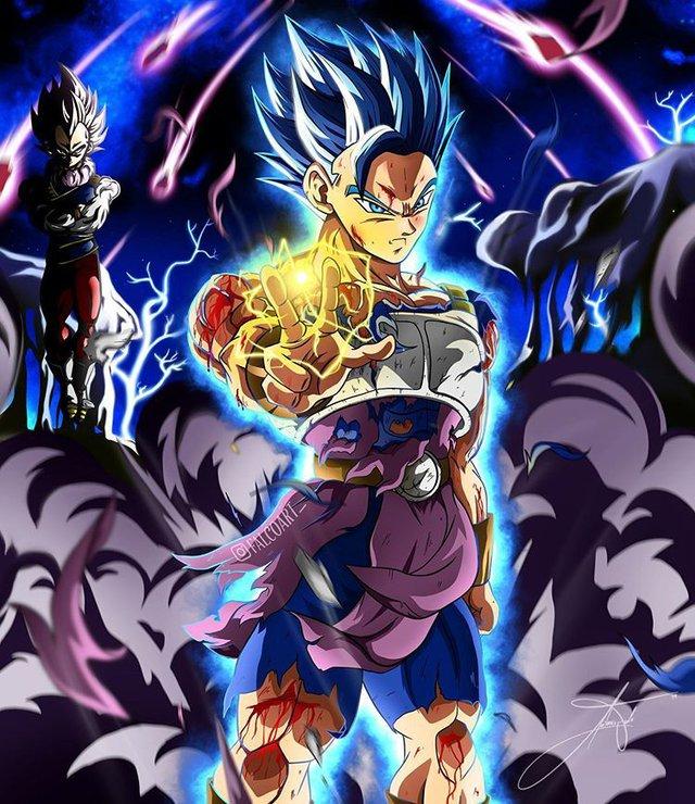 Dragon Ball: Goku và đồng bọn trông như những vị thần qua loạt fanart đẹp nhức mắt - Ảnh 10.