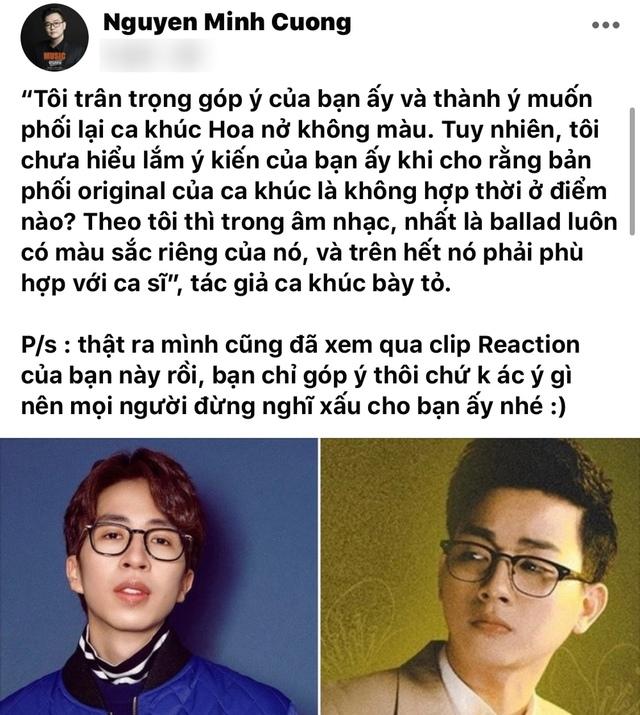 ViruSs gây tranh cãi khi reaction MV mới của Hoài Lâm, nhạc sĩ sáng tác cũng phải lên tiếng đăng status - Ảnh 3.