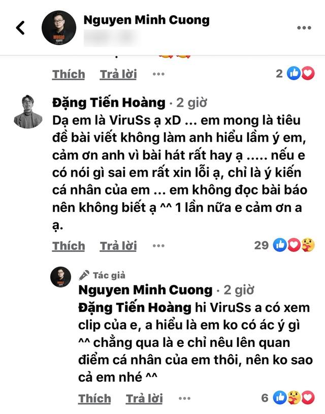 ViruSs gây tranh cãi khi reaction MV mới của Hoài Lâm, nhạc sĩ sáng tác cũng phải lên tiếng đăng status - Ảnh 4.