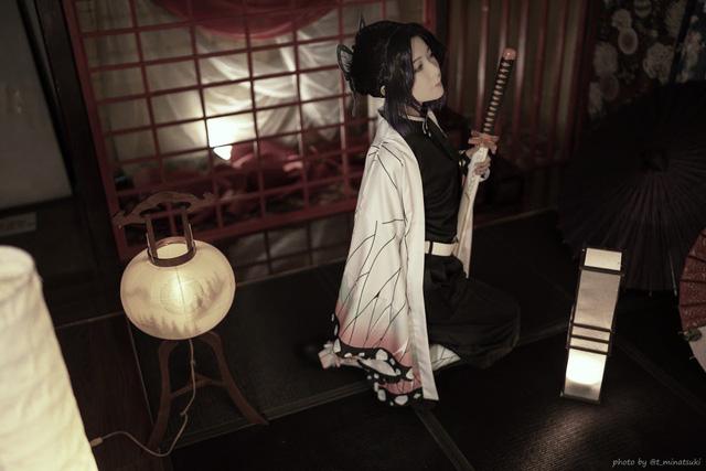 Ngắm loạt ảnh cosplay đẹp mắt của nữ thần 18+ Yui Hatano vào vai Trùng Trụ trong Kimetsu no Yaiba - Ảnh 3.