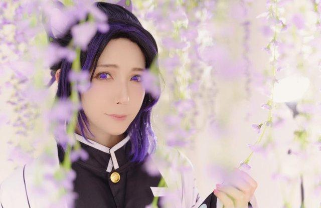 Ngắm loạt ảnh cosplay đẹp mắt của nữ thần 18+ Yui Hatano vào vai Trùng Trụ trong Kimetsu no Yaiba - Ảnh 4.