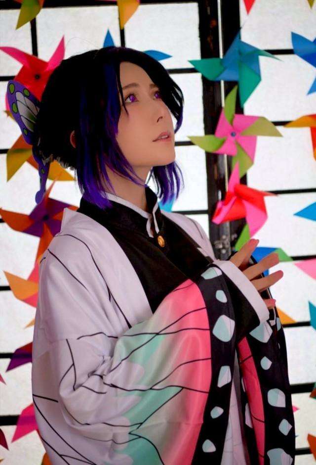Ngắm loạt ảnh cosplay đẹp mắt của nữ thần 18+ Yui Hatano vào vai Trùng Trụ trong Kimetsu no Yaiba - Ảnh 8.