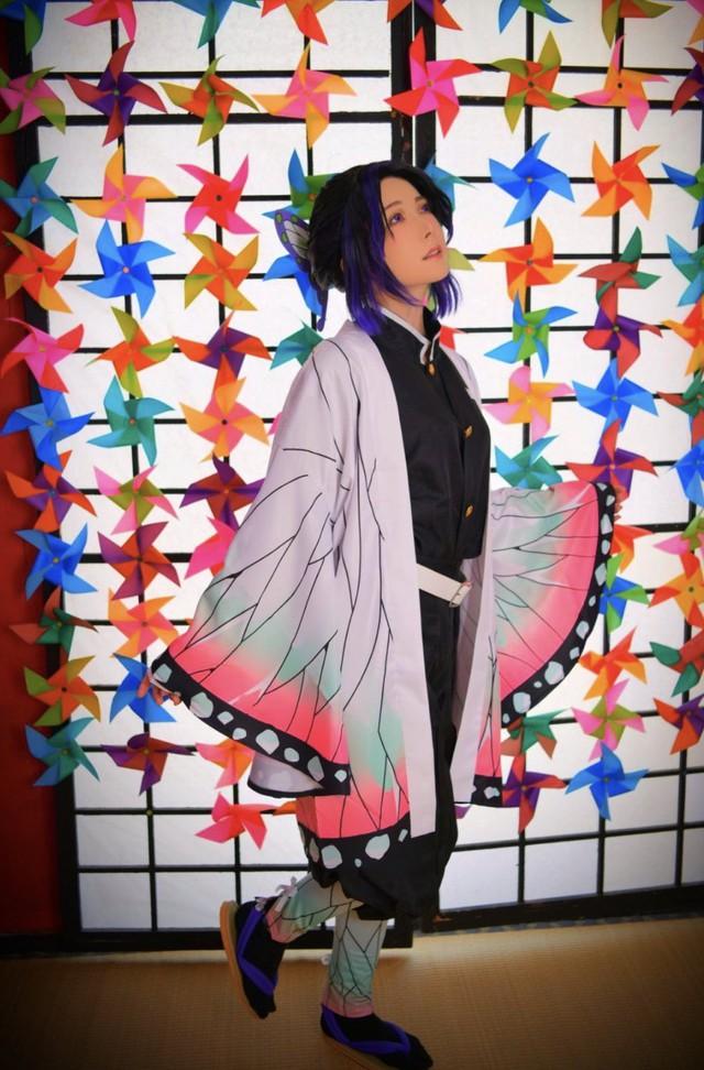 Ngắm loạt ảnh cosplay đẹp mắt của nữ thần 18+ Yui Hatano vào vai Trùng Trụ trong Kimetsu no Yaiba - Ảnh 9.