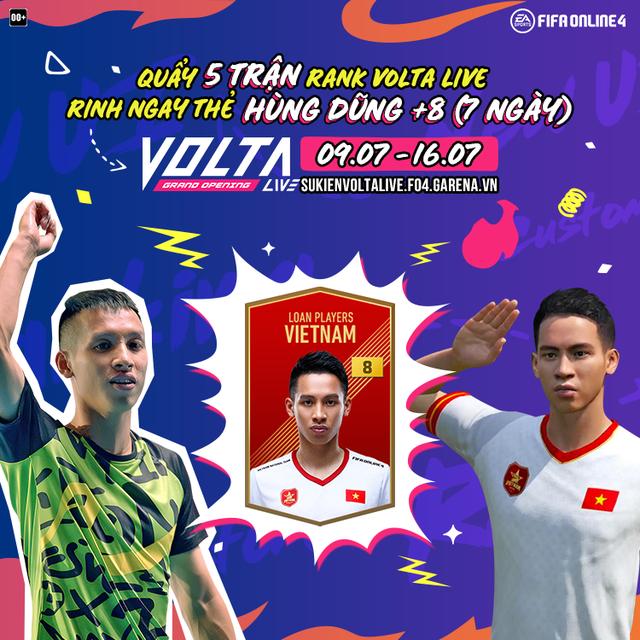 Game thủ phấn khích với sự kiện quẩy rank Volta Live mới của FIFA Online 4: Nhận miễn phí 20TOTS, Hùng Dũng +8... - Ảnh 5.