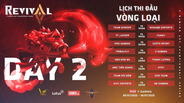 Khởi tranh giải đấu V Gaming AOV Championship Series: REVIVAL quy tụ 32 team giàu tham vọng - Ảnh 2.