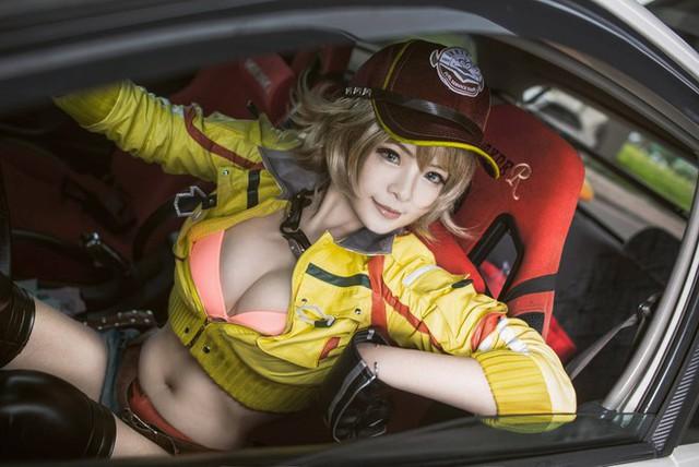 Nóng hừng hực với cô nàng sửa xe Cindy trong Final Fantasy XV - Ảnh 2.