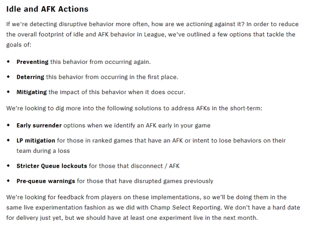 Game thủ LMHT sắp được đầu hàng sớm, giảm số điểm rank bị trừ khi gặp phá game/AFK - Ảnh 2.