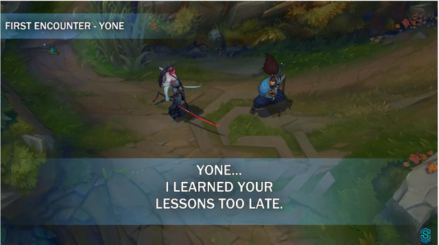 Yone gọi Yasuo là thằng ngu trong Đấu Trường Công Lý và sự thật về chiếc mặt nạ bị nguyền rủa - Ảnh 10.