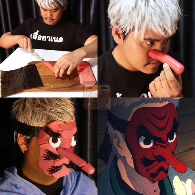 Cười chảy nước mắt với loạt hình Kimetsu no Yaiba cực bựa của thánh cosplay giá rẻ - Ảnh 4.