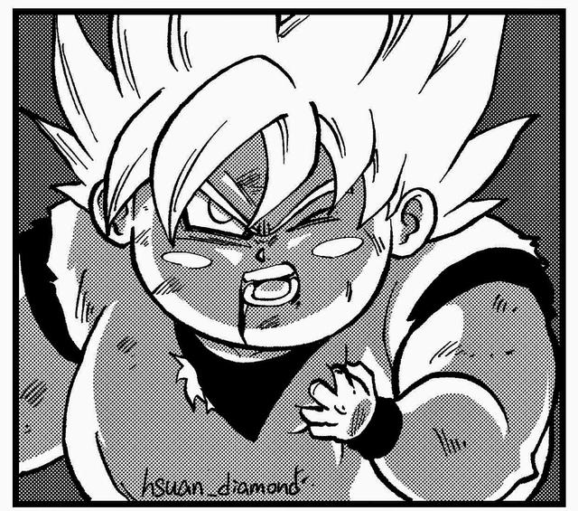 Chết cười khi thấy dàn nhân vật Dragon Ball Super béo múp míp đến là cưng - Ảnh 5.
