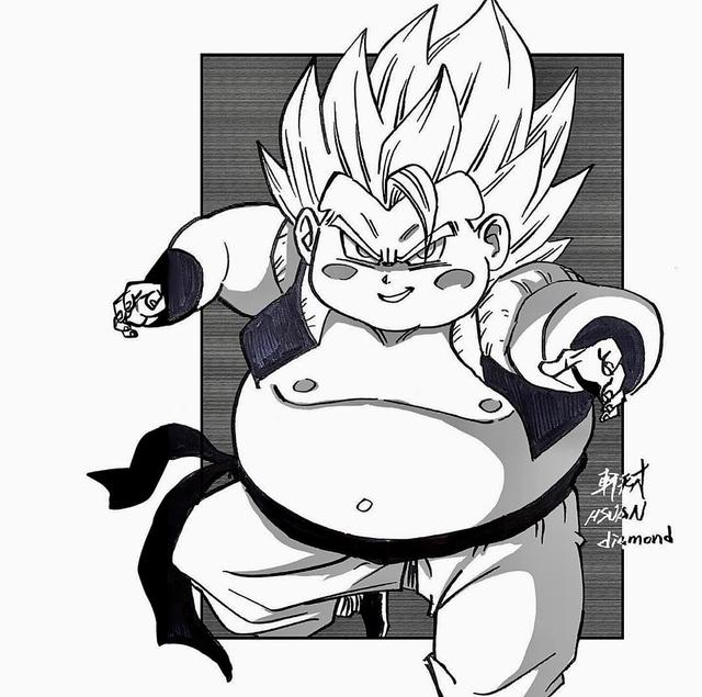 Chết cười khi thấy dàn nhân vật Dragon Ball Super béo múp míp đến là cưng - Ảnh 29.