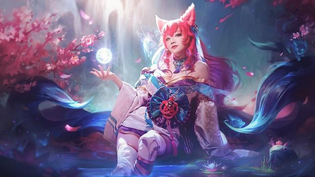 Cosplay Ahri Chiêu Hồn Thiên Hồ nóng hơn bản gốc, nữ cosplayer Hàn Quốc khiến dân tình bấn loạn - Ảnh 4.