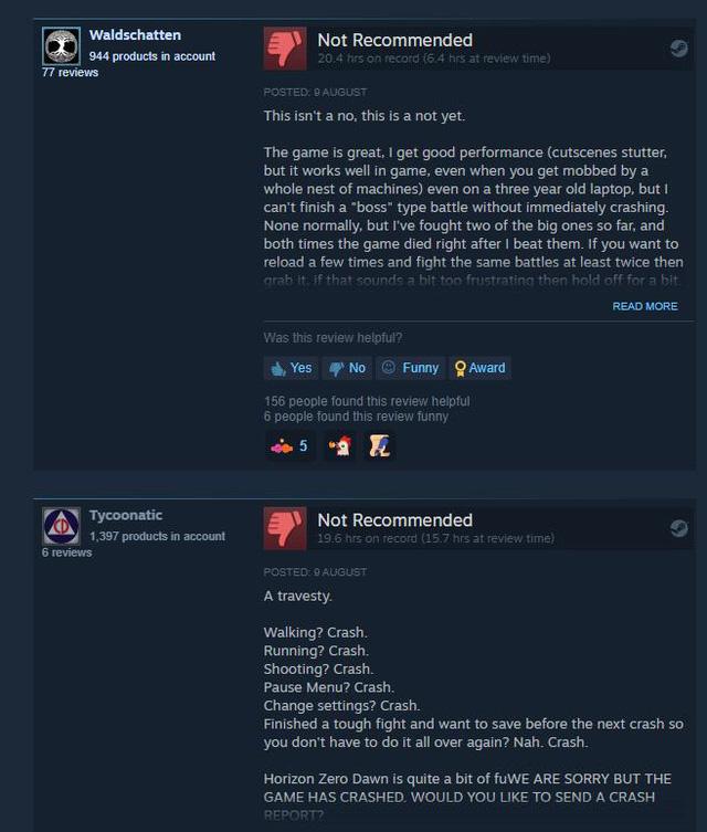 Bom tấn Horizon Zero Dawn bị chỉ trích vì tối ưu kém, đặc lỗi, PC khủng cũng không chơi được - Ảnh 3.