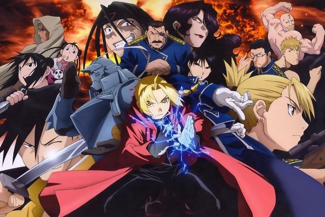 Những điều hấp dẫn không thể bỏ qua khi bạn là fan của Fullmetal Alchemist: Brotherhood phiên bản anime - Ảnh 1.
