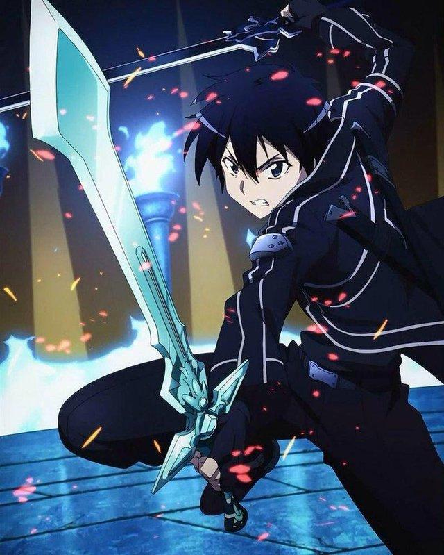 Kirito là nhân vật duy nhất có thể sử dụng chiêu Song Kiếm