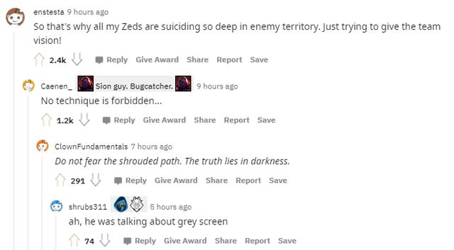 Game thủ phát hiện tính năng độc đáo mới của Zed - Khi chết thì xác bỗng nhiên hóa thành Mắt - Ảnh 4.