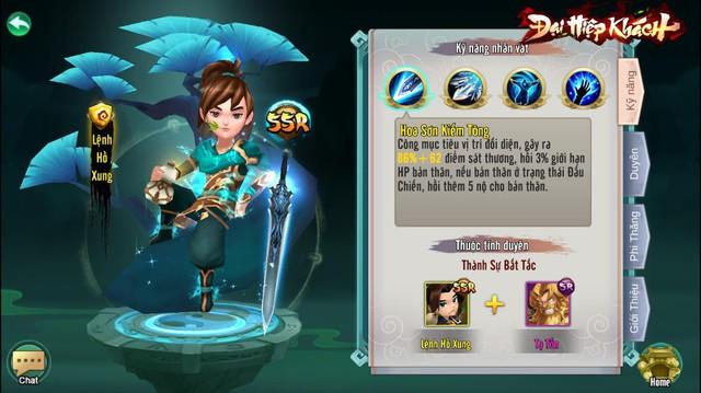 """""""Nổi da gà"""" khi thấy tướng trong Đại Hiệp Khách có tới 4 skill chủ động, game Việt giờ """"xịn"""" đến mức này sao? - Ảnh 8."""
