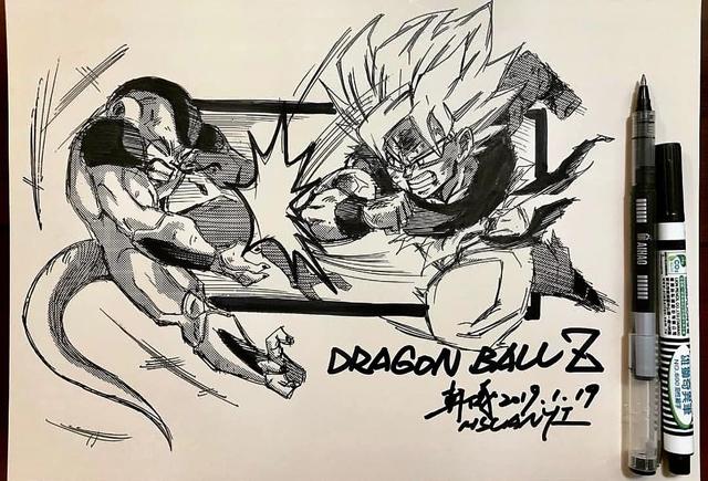 Dragon Ball: Mãn nhãn xem lại cuộc chiến giữa Frieza với Goku và nhóm chiến binh Z được tóm tắt qua tranh vẽ - Ảnh 5.