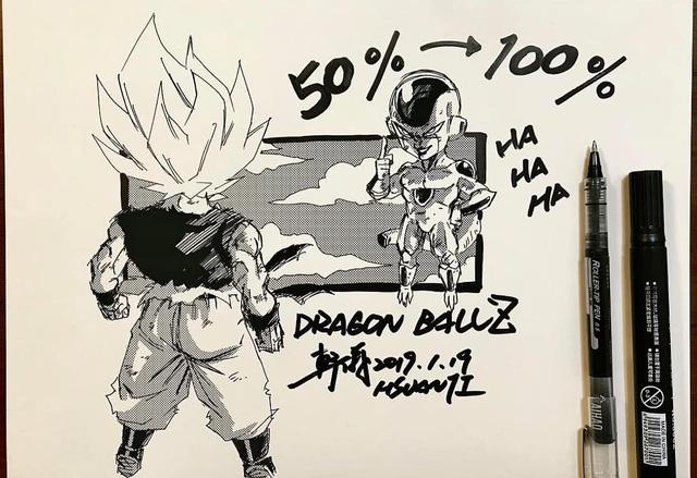 Dragon Ball: Mãn nhãn xem lại cuộc chiến giữa Frieza với Goku và nhóm chiến binh Z được tóm tắt qua tranh vẽ - Ảnh 6.