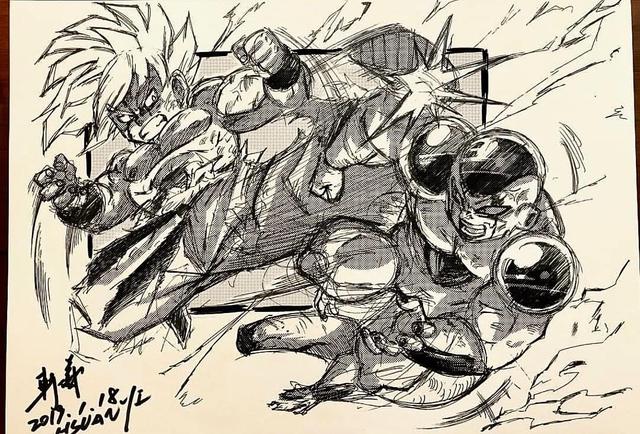 Dragon Ball: Mãn nhãn xem lại cuộc chiến giữa Frieza với Goku và nhóm chiến binh Z được tóm tắt qua tranh vẽ - Ảnh 10.