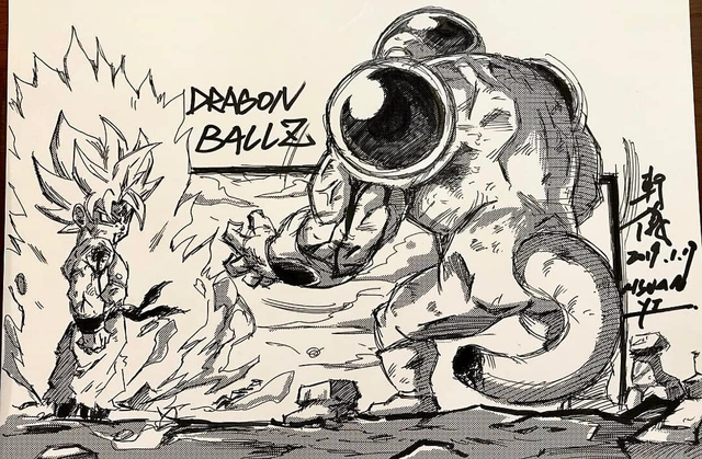 Dragon Ball: Mãn nhãn xem lại cuộc chiến giữa Frieza với Goku và nhóm chiến binh Z được tóm tắt qua tranh vẽ - Ảnh 11.
