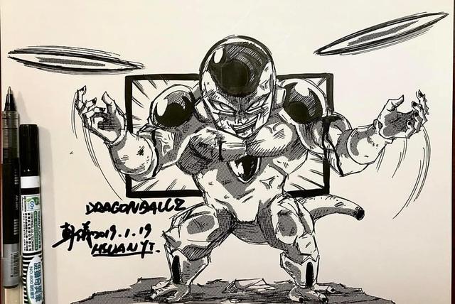 Dragon Ball: Mãn nhãn xem lại cuộc chiến giữa Frieza với Goku và nhóm chiến binh Z được tóm tắt qua tranh vẽ - Ảnh 12.