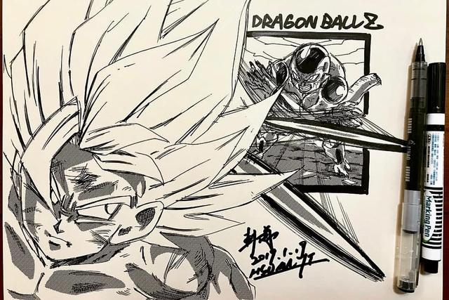 Dragon Ball: Mãn nhãn xem lại cuộc chiến giữa Frieza với Goku và nhóm chiến binh Z được tóm tắt qua tranh vẽ - Ảnh 13.