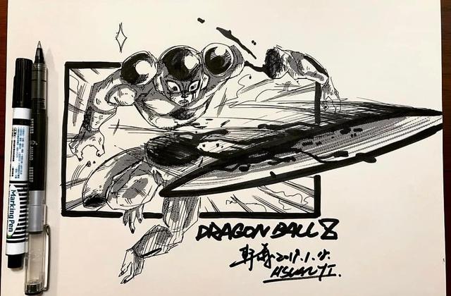 Dragon Ball: Mãn nhãn xem lại cuộc chiến giữa Frieza với Goku và nhóm chiến binh Z được tóm tắt qua tranh vẽ - Ảnh 15.