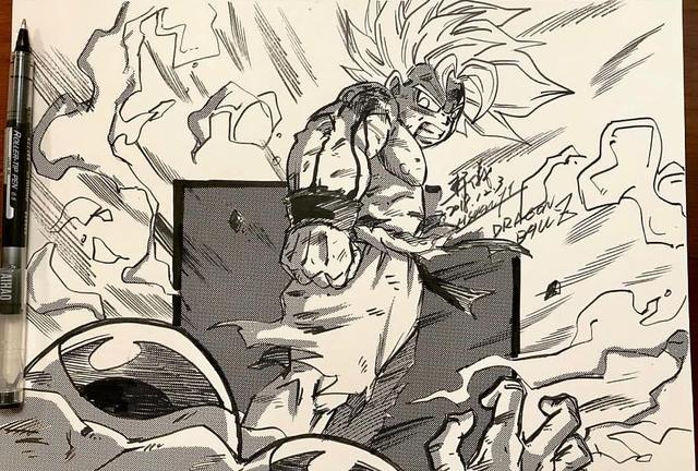 Dragon Ball: Mãn nhãn xem lại cuộc chiến giữa Frieza với Goku và nhóm chiến binh Z được tóm tắt qua tranh vẽ - Ảnh 16.